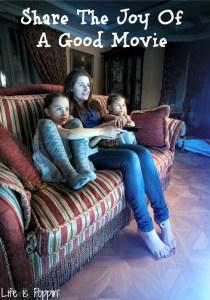 Share The Joy Of A Good Movie - #GiveALilRedbox