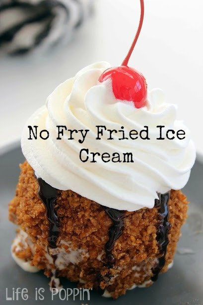 Easy No Fry Fried Ice Cream Recipe