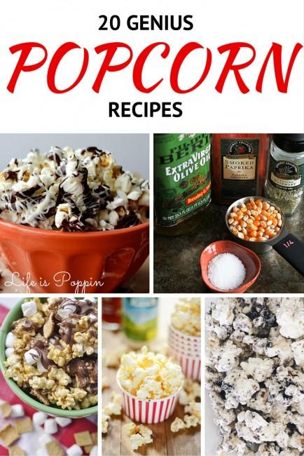 20 Genius Popcorn Recipes