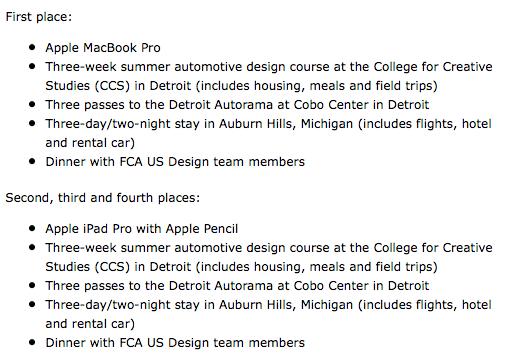 fca-drive-for-design-contest