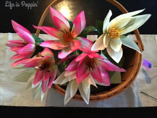 Flower Basket DIY