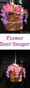 Flower Door Hanger Pinterest