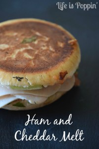 Ham and Cheddar Melt Recipe