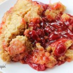 3 Ingredient Slow Cooker Cherry Dump Cake