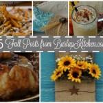Burlap Kitchen's Top 5 Fall Posts