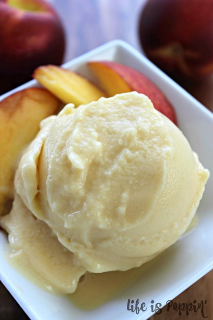 Blender-peach-ice-cream