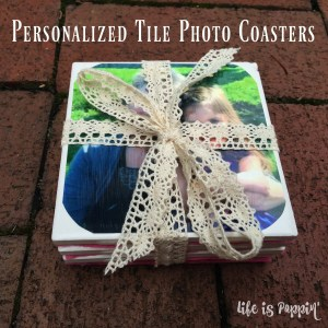 Easy Personalized Tile Photo Coasters You Will Love