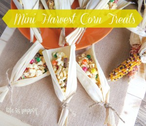 Mini Harvest Corn Treats
