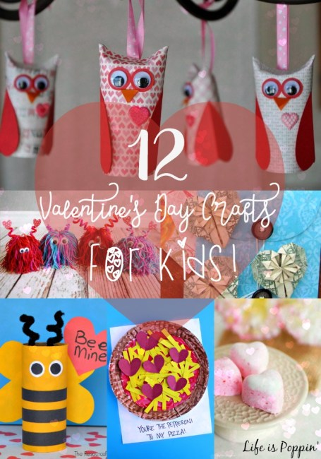 Easy Valentine's Crafts for Kids