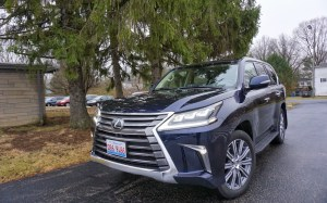 2017 Lexus LX570 – For the Jet-Setting Family
