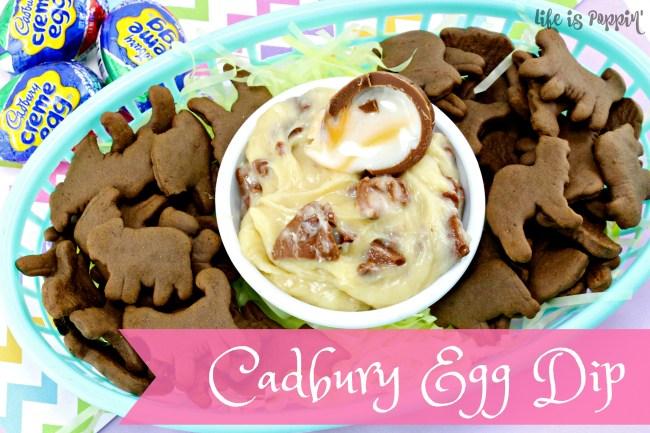 Easy Cadbury Creme Egg Dip