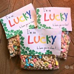 St. Patricks Day Treat Bag Toppers with Printable