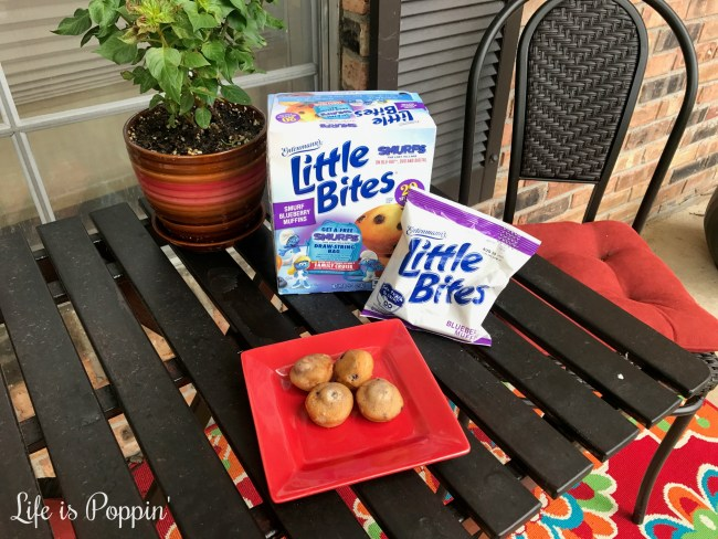 Little Bites® Smurf Blueberry Muffins