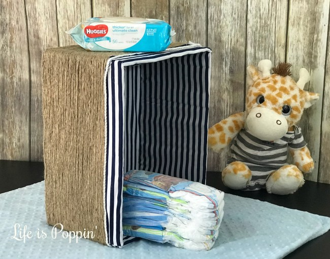 No-Sew Fabric Basket: Perfect Nursery Storage DIY