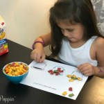 Printable Art Activity with Goldfish Colors