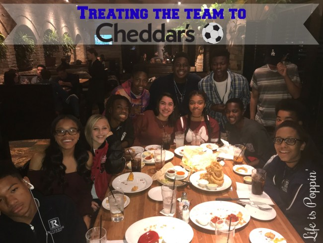 Cheddars Scratch Kitchen: Treating the Team