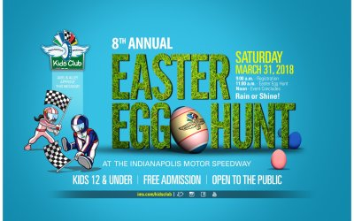 Easter Egg Hunt at Indianapolis Motor Speedway!