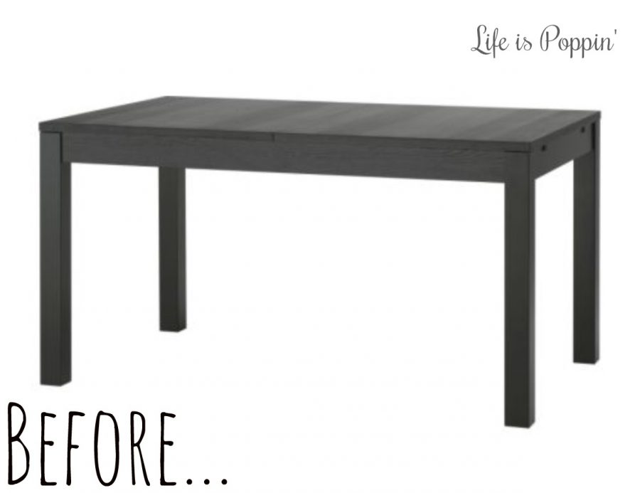 Before-Farmhouse-table