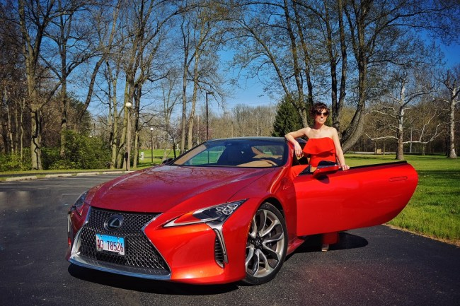 A Magical Evening at the Wheel of the 2018 Lexus LC 500