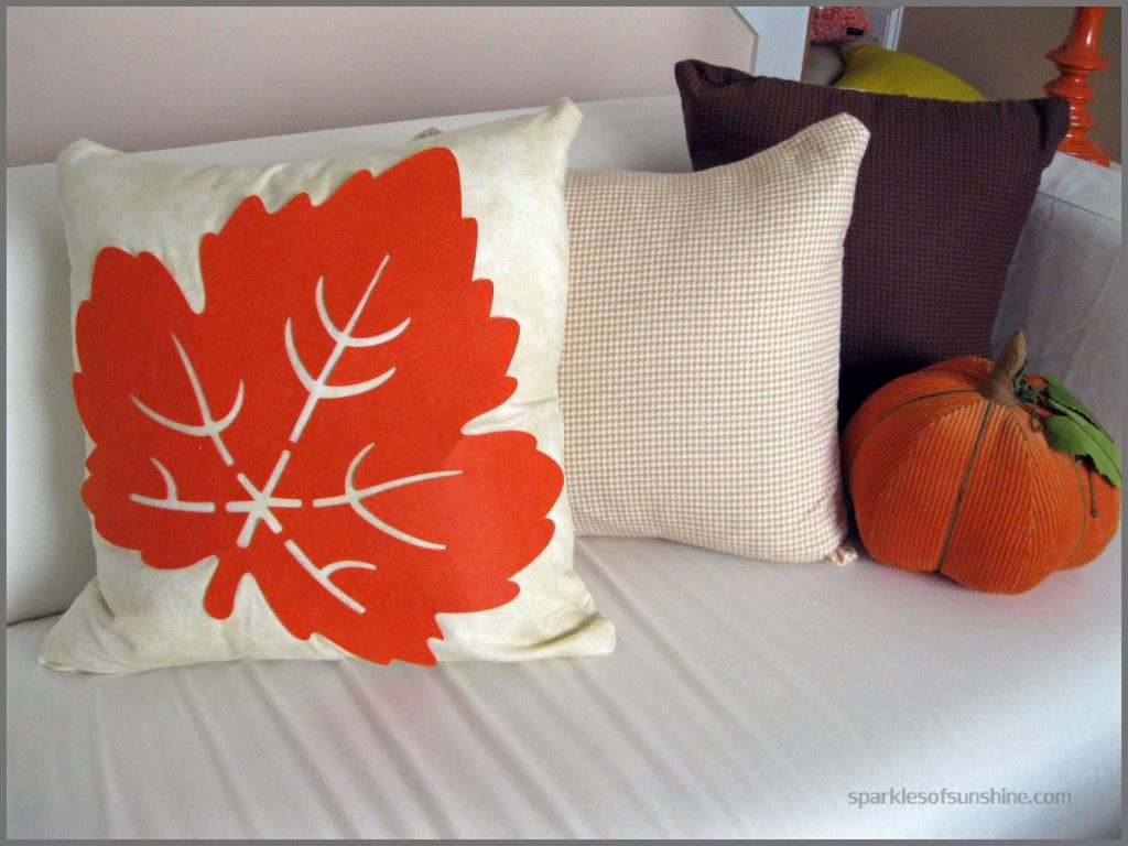 fall pillow