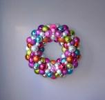 Pink Rainbow Ornament Wreath | Life Is Sweet As A Peach