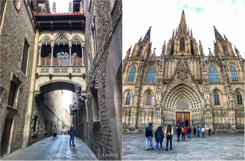 Barselona'nın Gotik Mahallesi