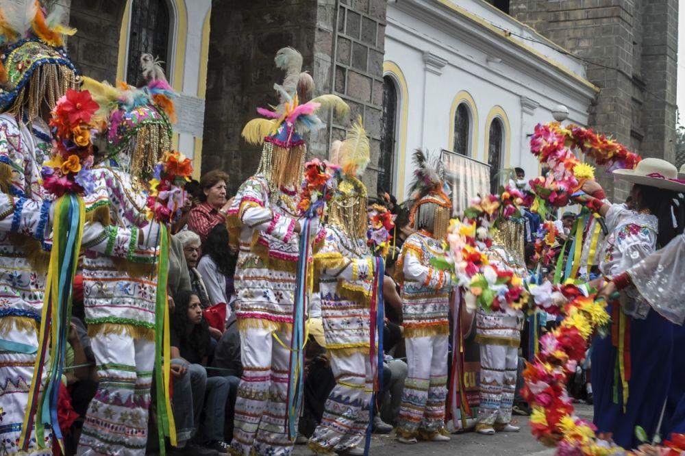 carnival in ecuador