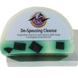De Spousing Cleanse Goat's Milk Soap - front
