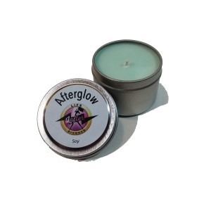 Afterglow Soy Candle - display