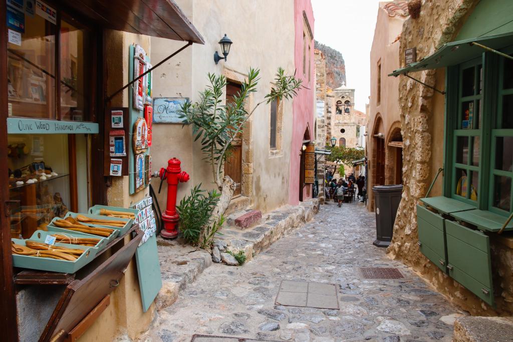 Monemvasia, Griekenland
