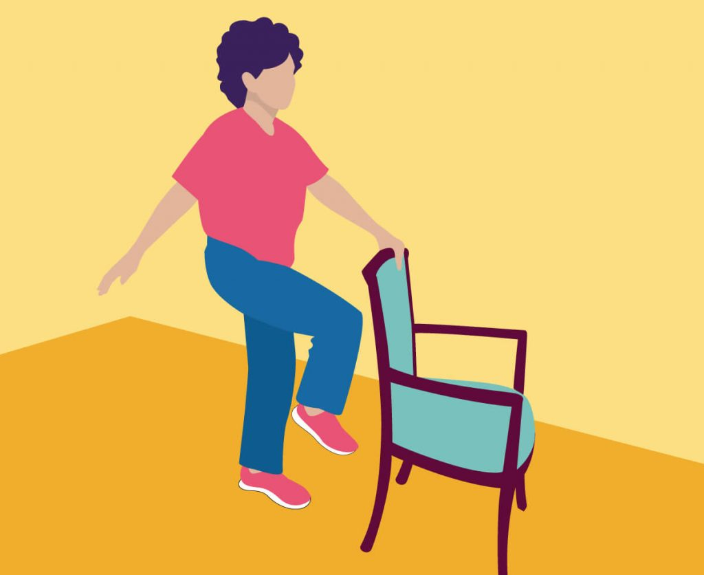 Exercise Chairs 14 Exercises For Seniors To Improve Strength And Balance