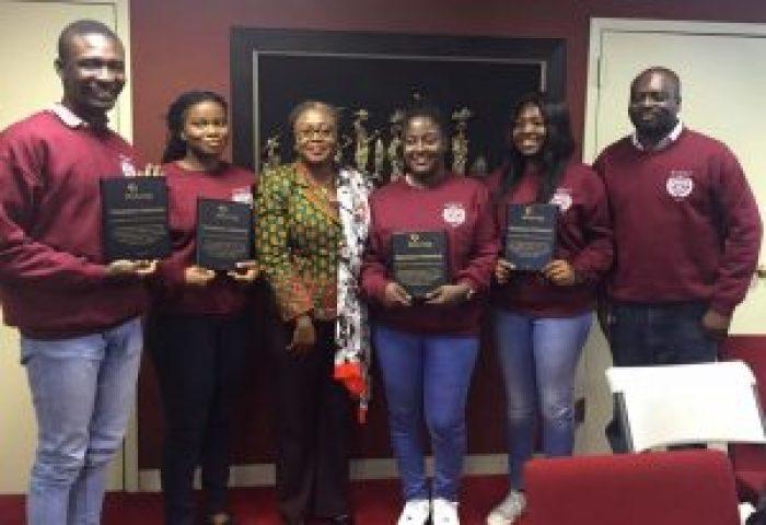 Ghana awarded at Harvard Model UN
