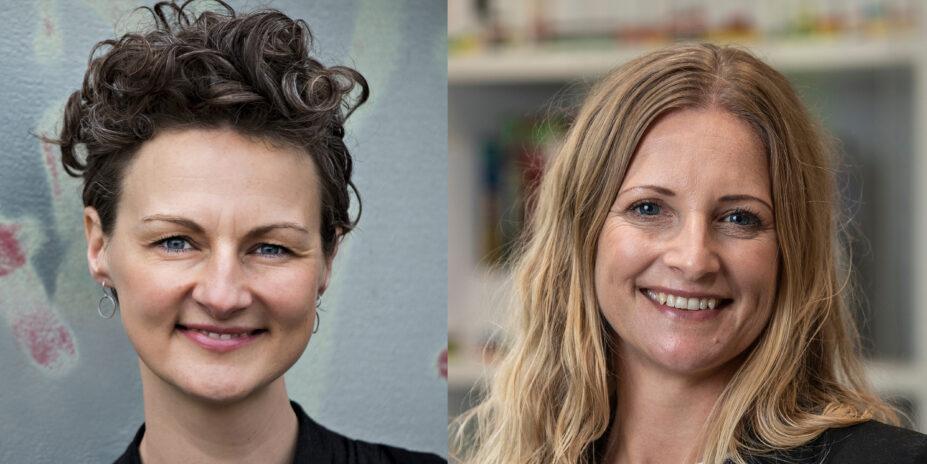 Lzaura Vilsbæk og Karina Rothoff Brix