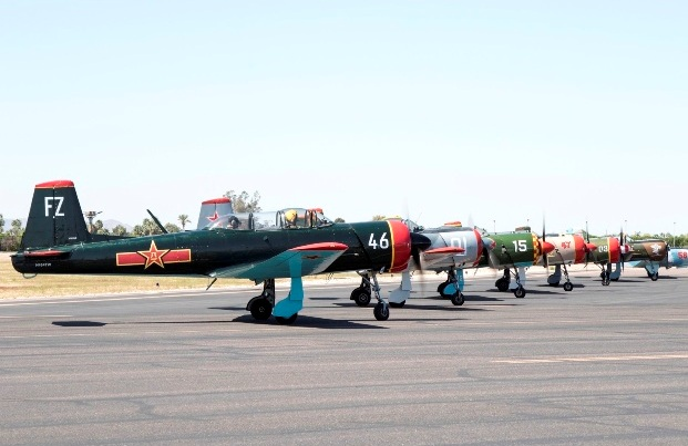 Jan 22 Commemorative AF Museum and Falcon Field