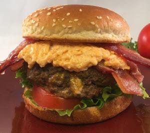 blue cheese stuffed burger lifeloveandblog