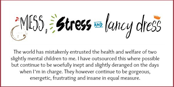 Mess Stress and Fancy Dress Image