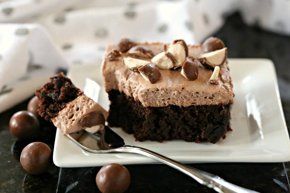 Malted Mousse Brownies  Life Love and Good Food