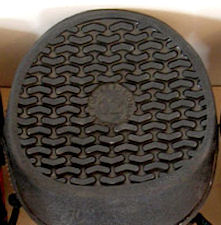Bottom of Equine Jogging Shoe
