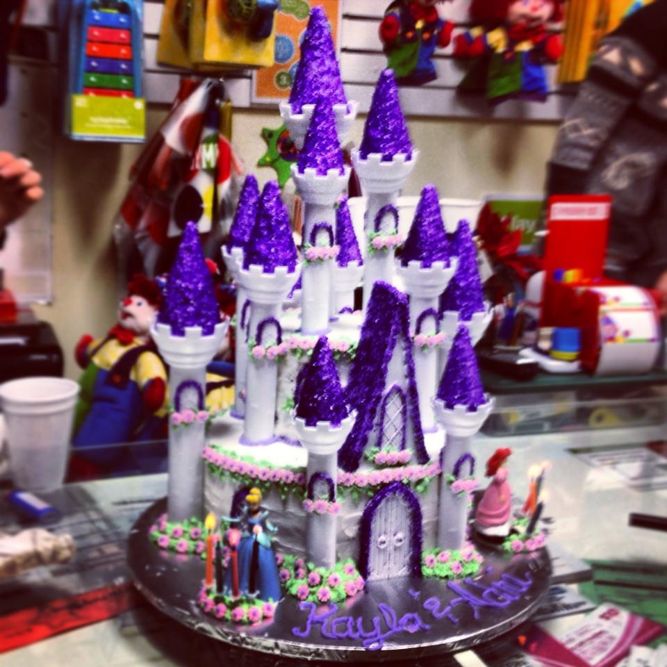 Cake Tutorial Princess Castle Cake Life Love and the Pursuit