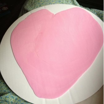 Wilton Rolled Fondant Dyed Pink