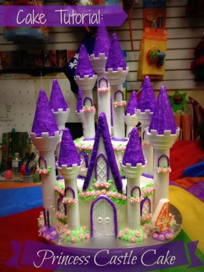 Cake Tutorial: Princess Castle Cake