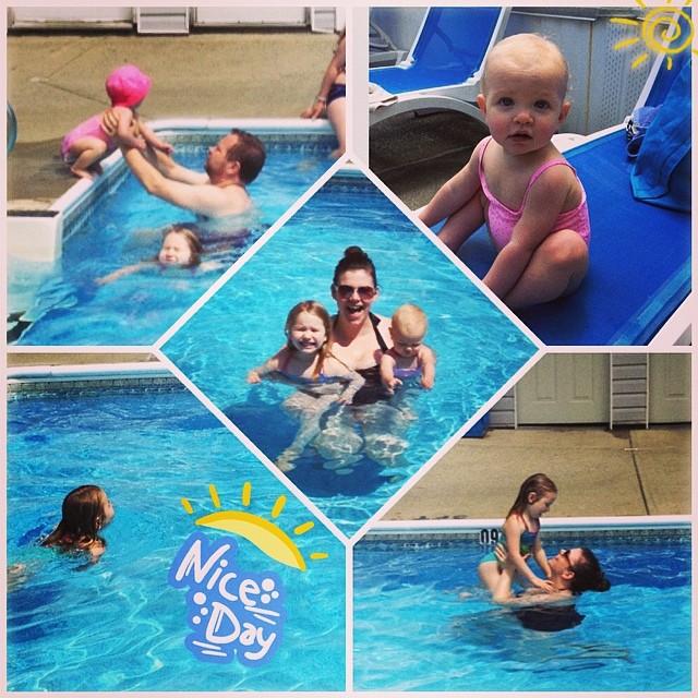 So much pool fun!