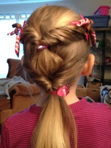 Double Twist Pony Hairstyle on Life, Love and the Pursuit of Play