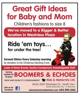 Boomers and Echoes Holiday Ad