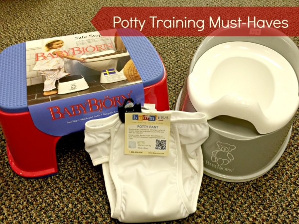Potty Training Must Haves on Life, Love and the Pursuit of Play
