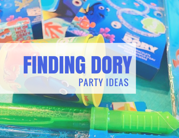 FINDING DORY PARTY IDEAS HEADER
