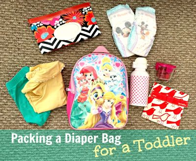 Packing a Diaper Bag for a Toddler