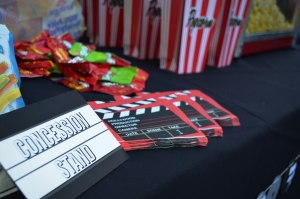 Movie Themed Birthday Party Concession Stand 2