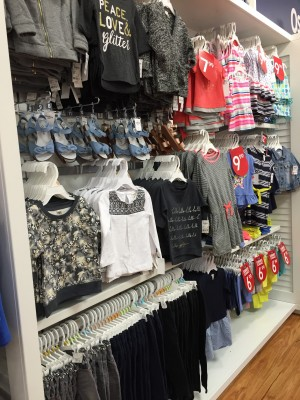 Carter's OshKosh B'Gosh Back to School Collection In-Store