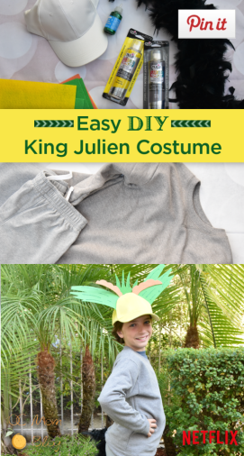 Halloween movies - netflix Costumes - king-julien